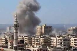 سوريا:قتلى وجرحى من الجيش الحر في قصف جوي على حي برزة