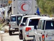 سوريا : 40 شاحنة من المساعدات الإنسانية مستعدة لدخول الغوطة
