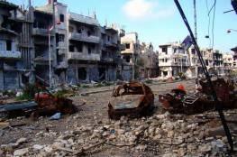 إمرأة كادت تفجر مدينة حمص بحزام ناسف