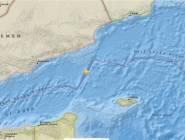زلزال بقوة 6.2 يضرب قبالة سواحل اليمن