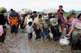 شاهد: مسلمو الروهينغا يواصلون الفرار إلى بنغلاديش