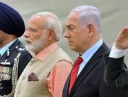 دولة الهند تسعى لتطوير العلاقات الدفاعية مع إلأحتلال