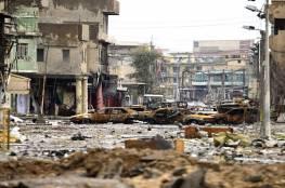 القوات العراقية تهاجم أخر أماكن سيطرة داعش في مدينة الموصل