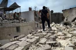 سوريا : قوات الأسد تكثف غاراته على ريف حلب مع استمرار الاشتباكات