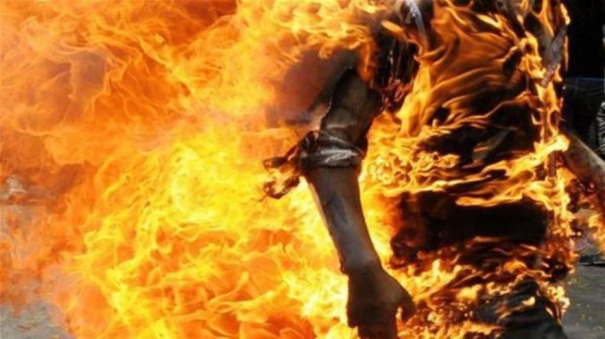 وافد يسكب مادة حارقة على جسد زوجته وعشيقها بعد ضبطهما
