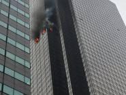 بالصور و الفيديو : قتيل وجرحى في حريق برج ترامب بنيويورك