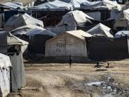 مقتل 3 أطفال في حريق بمخيم سوري لعائلات داعش
