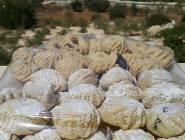أعداد كعك العيد بالسميد على الطريقة الفلطسينية