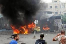 9 قتلى بتفجير سيارة مفخخة في هضبة الجولان السورية