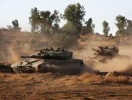 الأحتلال يتوغل وإطلاق نار صوب مرصد للمقاومة في قطاع غزة