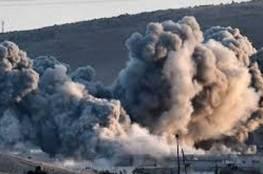 مجزرة في بلدة حيش بريف ادلب جراء غارات روسية