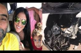 صور: فنان سوري يتعرض وعائلته لحادث سير مميت في لبنان!!
