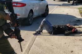 #شاهد| جيش الاحتلال الإسرائيلي يُطلق النار على شاب فلسطيني على حاجز حوارة، بزعم محاولته تنفيذ عملية طعن.