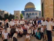 القدس المحتلة : 924 مستوطنًا يقتحمون الأقصى وإجراءات مشددة بالقدس