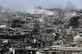 تجدد المواجهات بين داعش والقوات العراقية  في الموصل بعد إعلان النصر