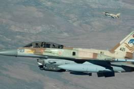الأحتلال يقول إنه يشن ضربات ضد أهداف إيرانية في سوريا