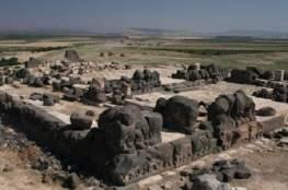 القصف تركي يلحق ضرراً بمعبد أثري في عفرين