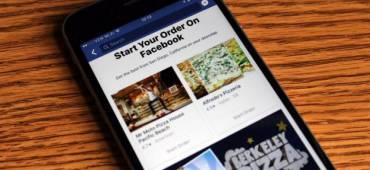 فيس بوك تضيف خدمة طلب الطعام لتطبيقها