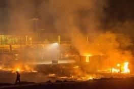 10 جرحى إثر اندلاع حريق بمخيم للاجئين في فرنسا