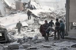 سوريا : إدلب تحت القصف الروسي....مستشفى كفرنبل خارج الخدمة بعد استهدافها بغارتين