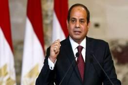 السيسي: مياه مصر مسألة حياة أو موت لا يستطيع أحد المساس بها