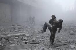 غارات جديدة للنظام السوري على الغوطة