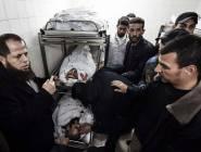 7 شهداء في هجوم  الأحتلال على جنوبي قطاع #غزة