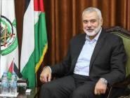 """هنية يناقش """"التطورات السياسية"""" مع وزير الخارجية القطري"""