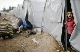 العراق : الرياح تقتلع خيام نازحي الموصل وتفاقم معاناتهم