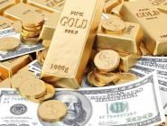 انخفاض الذهب امام الدولار