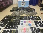 الشرطة الفلسطينية تضبط كميات ضخمة من المخدرات داخل منزل في الخليل