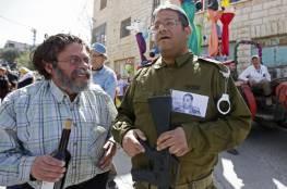 في عيد المساخر مستوطنون يكرّمون الجندي قاتل الشهيد عبد الفتاح الشريف