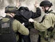 اعتقال شاب والاعتداء عليه بالضرب في نابلس