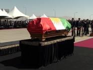 """""""خطأ بروتوكولي"""" في جنازة طالباني يثير السخط في العراق"""