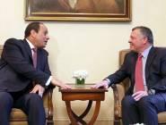 عمان : العاهل الأردني يؤكد على حل الدولتين عشية لقائه مع السيسي