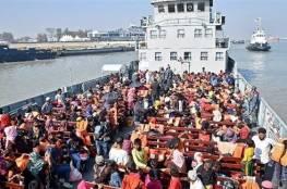 بنغلاديش ترسل مزيداً من لاجئي الروهينجا لجزيرة نائية رغم الانتقادات
