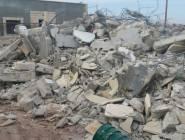 جرافات الاحتلال تهدم مزارع للمواشي في بلدلة العيساوية بالقدس