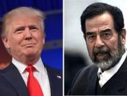 ترامب يفجر مفاجأة صادمة مرتبطة بصدام حسين