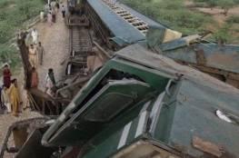 مصرع 11 شخصاً بحادث تصادم قطارين في باكستان