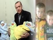 """مقتل التوأم الثلاثي """"رجب طيب أردوغان """" بقذيفة في سوريا"""