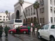 25 قتيلا في تفجير في القصر العدلي بدمشق