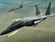 طيران التحالف يقصف أهدافاً لداعش في سوريا