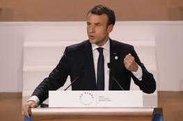 ماكرون: علينا الحديث مع الأسد لأنه ربح الحرب على الأرض