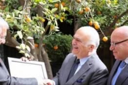 """فلسطين : 115 عائلة مقدسية تثمن جهود الأمير حسن بن طلال """"أبو راشد"""" في دعم تراث القدس"""