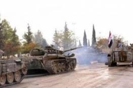 النظام  السوري يتقدم في درعا