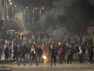 تفجر احتجاجات جديدة في تونس بعد وفاة أحد المتظاهرين
