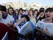 فلسطين : طالبات متطرفات معاهد تلمودية ومستوطنون يقتحمون المسجد الأقصى