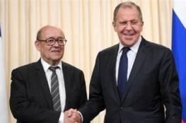روسيا وفرنسا يبحثان هاتفياً الوضع في سوريا