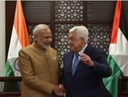 فلسطين : رئيس الوزراء الهندي يغرد بالعربية
