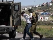 الاحتلال يعتقل 9 مواطنين في الضفة الغربية